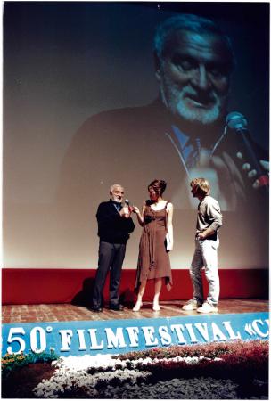 [Film Festival Trento, 50. edizione: partecipanti alle presentazioni, fotogrammi dei film in concorso]