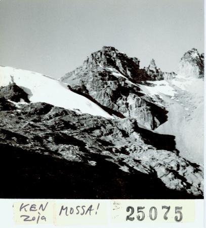 Punta Thomson, [ghiacciaio Gregory]