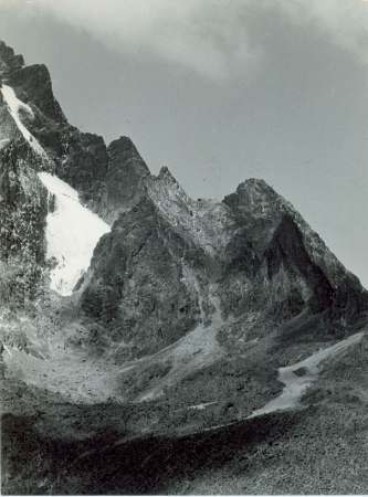 Monte Kenya m 5199 versante nord