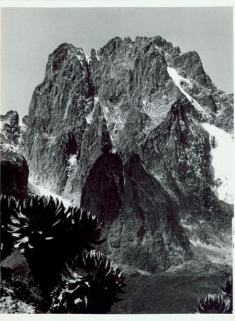 Versante settentrionale o nord orientale Monte Kenya