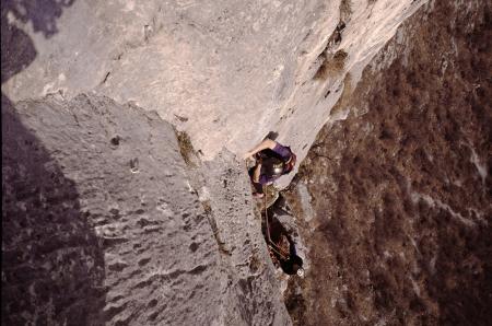 [Arrampicata: Alpi Orobie, Corna di Medale, via Milano 68]