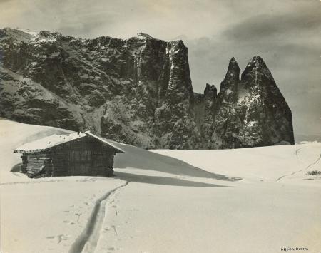 [Vedute invernali dell'Alpe di Siusi]