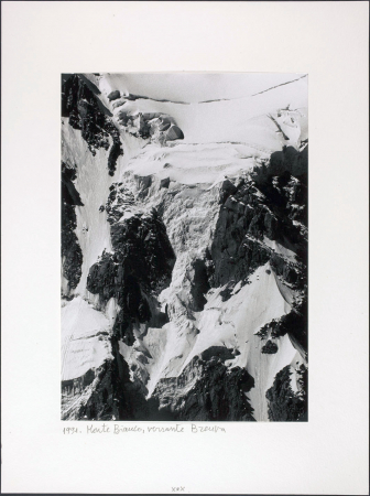 Monte Bianco, versante Brenva