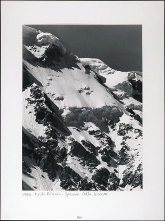 Monte Bianco. Sperone della Brenva