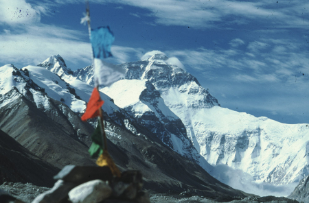 [Alpinismo extraeuropeo: Cho Oyu 1985, Everest 1990, Dhaulagiri 1995 e varie]