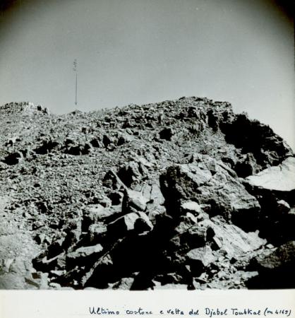 Ultimo costone e della vetta del Jebel Toubkal