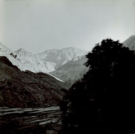 Imlil, inizio del vallone che conduce al Jebel Toubkal