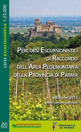 Percorsi escursionistici di raccordo dell'area pedemontana della Provincia di Parma