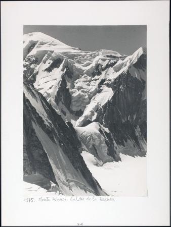 Monte Bianco. Calotte de la Brenva
