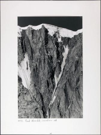 Mont Maudit, canalone est