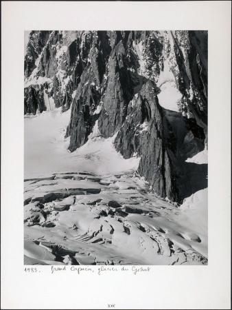 Grand Capucin, glacier du Géant