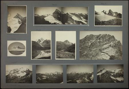 [Riprese varie tra cui: Panorama dalla Gran Becca du Mont, Grande Rousse dalla Becca di Tei]