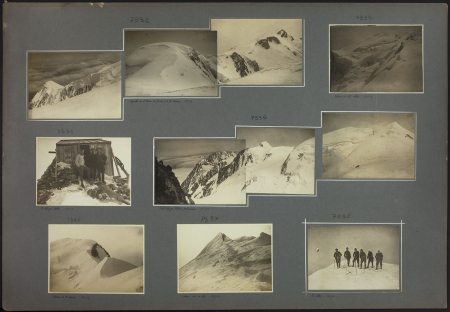 [Riprese varie tra cui: Aiguille, Dôme du Goûter, Monte Bianco]