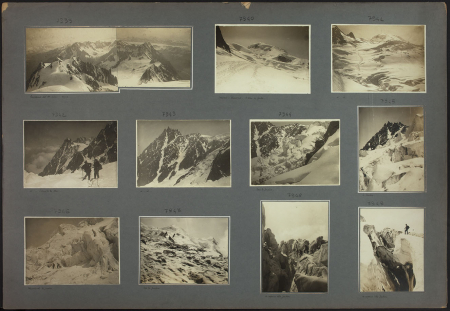 [Riprese varie tra cui: Panorama del Monte Bianco, Dôme du Goûter, Aiguille du Midi]