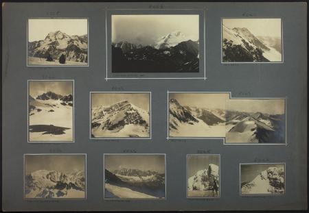 [Riprese varie tra cui: Grand Combin, Gran Testa di By, Velan, Monte Bianco]