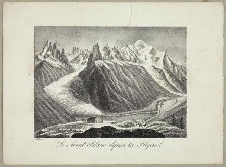 Le Mont Blanc depuis la Flégère