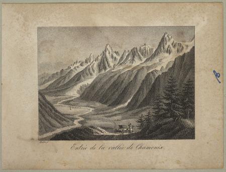 Entrée de la vallée de Chamonix