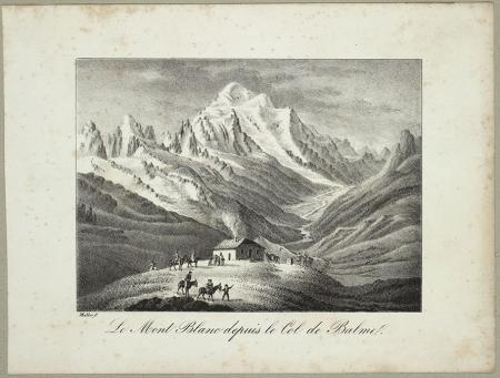 Le Mont Blanc depuis le Col de Balme