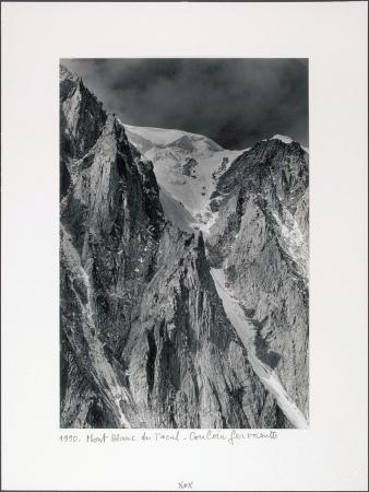 Mont Blanc du Tacul. Couloir Gervasutti