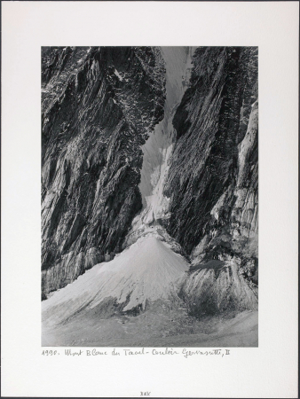 Mont Blanc du Tacul - Couloir Gervasutti, II