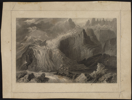 [The Source of the Aveiron, Valley of Chamouni ?]