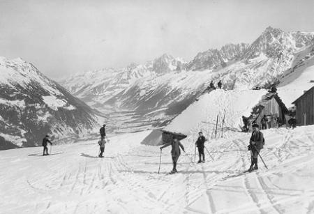 [Vallée de Chamonix et chaine des Aiguilles