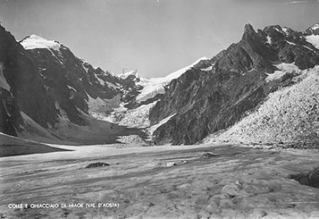 Colle e ghiacciaio di Miage (Val D'Aosta)