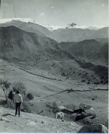 Sierra Nevada del Cocuy o Chita vista della parte centrale a sinistra Alto Ritacuva ovest