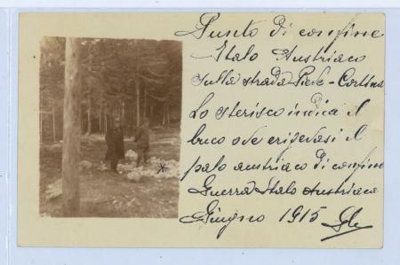 [Raccolta di fotografie della Guerra italo-austriaca della zona di Cortina e dintorni]
