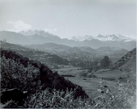Cordillera Blanca nei pressi di Caras