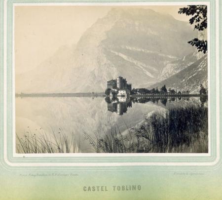 Castel Toblino. Luogo ove esisteva  il Forte dell'Ampola. [Lago di Toblino]