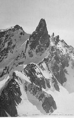 M. Bianco - Il Dente del Gigante dalla Aig. du Midi