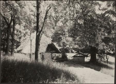 [Tetti di Paglia Orlongo, 1920 circa]