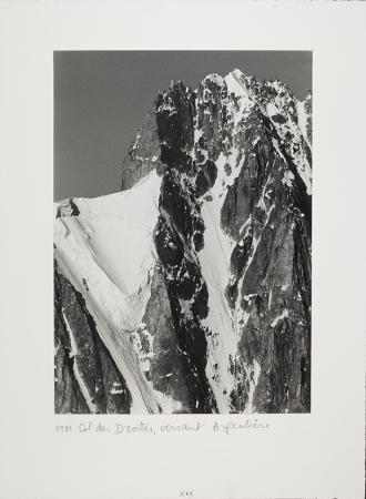 Col des Droites, versant Argentière