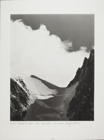 Col de la Tour des Courtes - versant Argentière