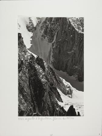Aiguille d'Argentière. Glacier du Milieu