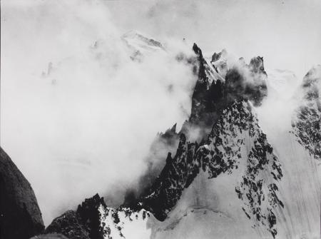 [Il Monte Bianco dalle Guglie di Chamonix, 1921]