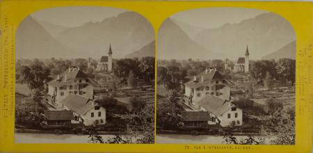 75-Vue à Interlaken, Suisse