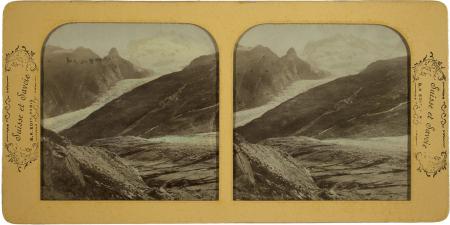 Le Mont Rosa le Corner glascher pris du lac Noir