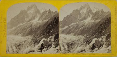 42.-Aiguille de Charmox prise du Montanvert, Chamounix. Savoie