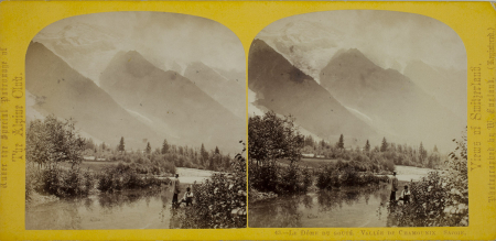 43.-Le Dôme du Gouté. Vallée de Chamounix. Savoie.
