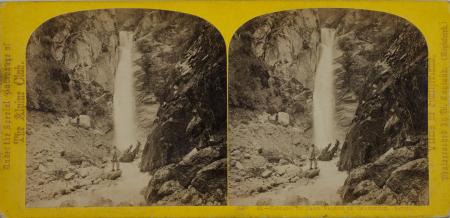 48.-Cascade du Dard Vallée de Chamounix. Savoie