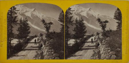 208.-Le Dome et l'Aiguille du Goùte, Chamounix. Savoie