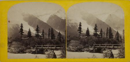 209.-Le Glacier des Bossons et le Dôme du Goûte, Chamonix. Savoie