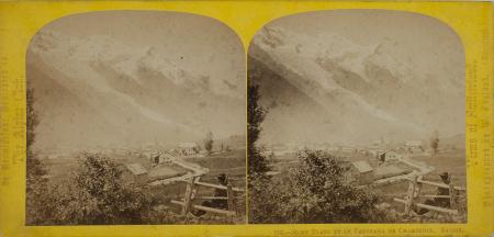 210.-Mont Blanc et le Panorama de Chamonix. Savoie