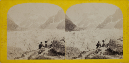 328.-La Mer de Glack, Chamounix. Savoie.