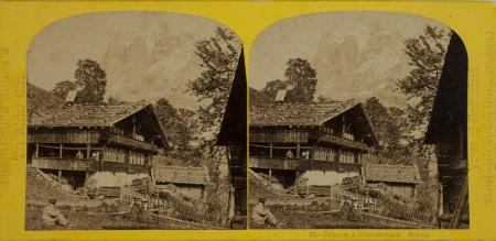 95.-Chàlets à Grindelwald. Suisse.