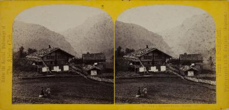 96.-Vue à Grindelwald. Suisse. (1)