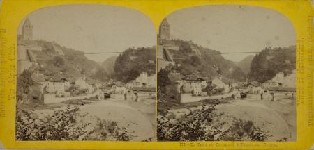 128.-Le Pont du Gotteron à Fribourg. Suisse.