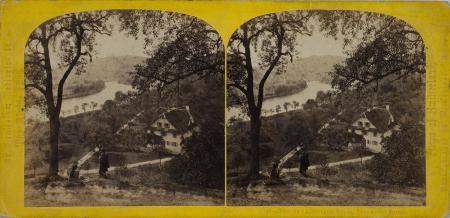 140.-Vue de la Rivière Reuss, Lucerne. Suisse.